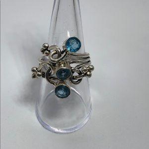 NWOT Aquamarine Ring